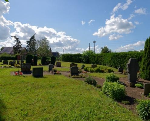Friedhof in Wegezin