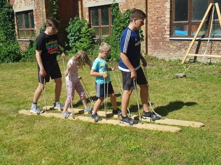 Kinder Kirchen Ferientag in Krien