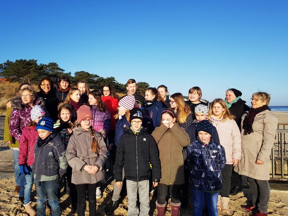 Kindersingwoche im Februar 2020 in Heringsdorf auf Usedom