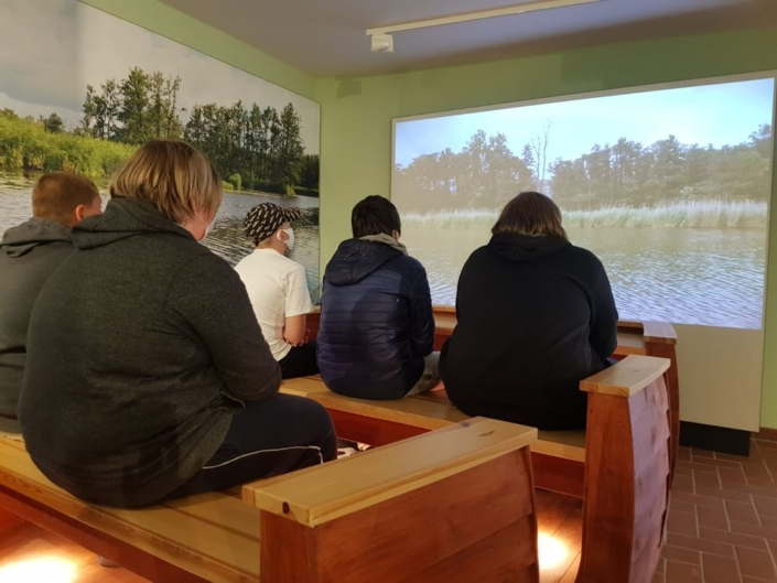 In Stolpe im Informationszentrum Naturpark Flusslandschaft Peenetal