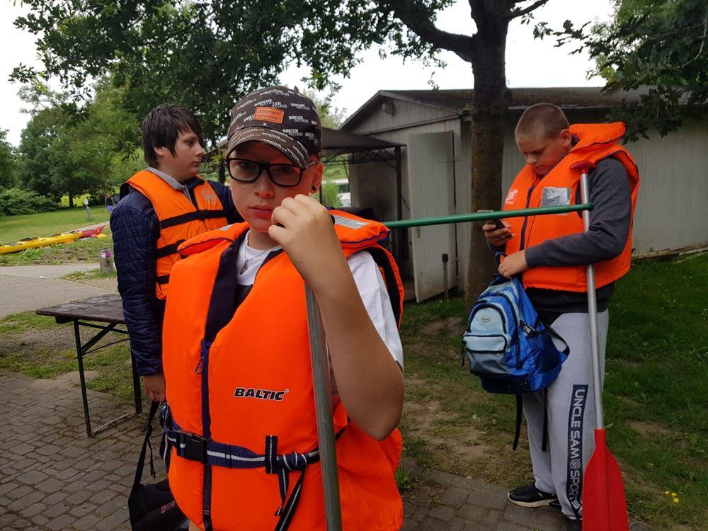 Sicherheit beim Kanu fahren ist oberstes Gebot!