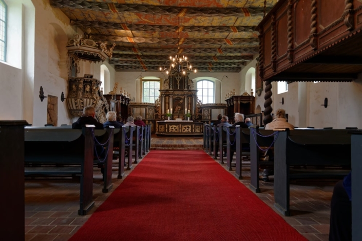 Zentraler Gottesdienst Himmelfahrt 2021 in Iven