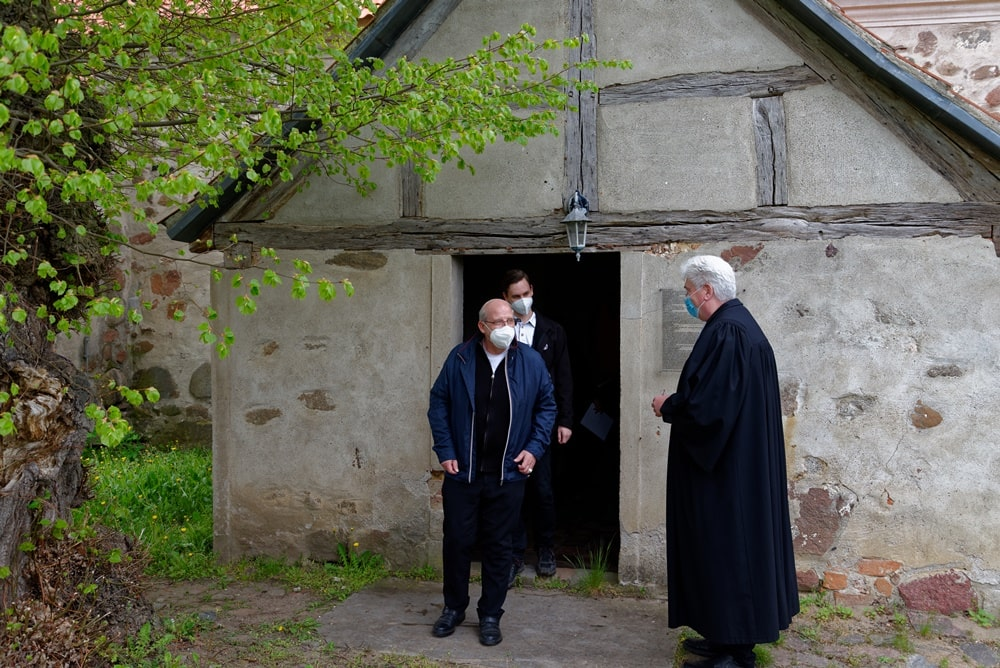 Zentraler Gottesdienst Himmelfahrt 2021 in Iven mit Pastor Jens Warnke