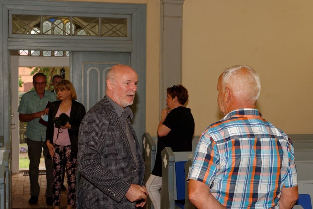 CDU Arbeitskreis Finanzen zu Besuch in der Kirche in Wegezin