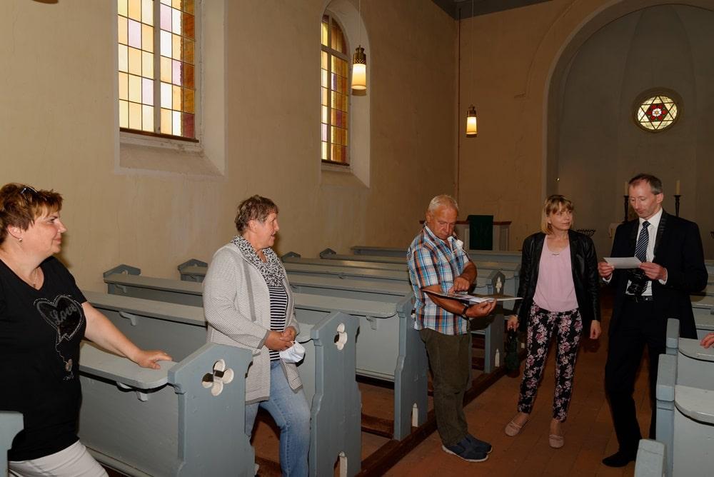 Erläuterungen zum Buch der geförderten Kirchen durch Hendrik Ahrens