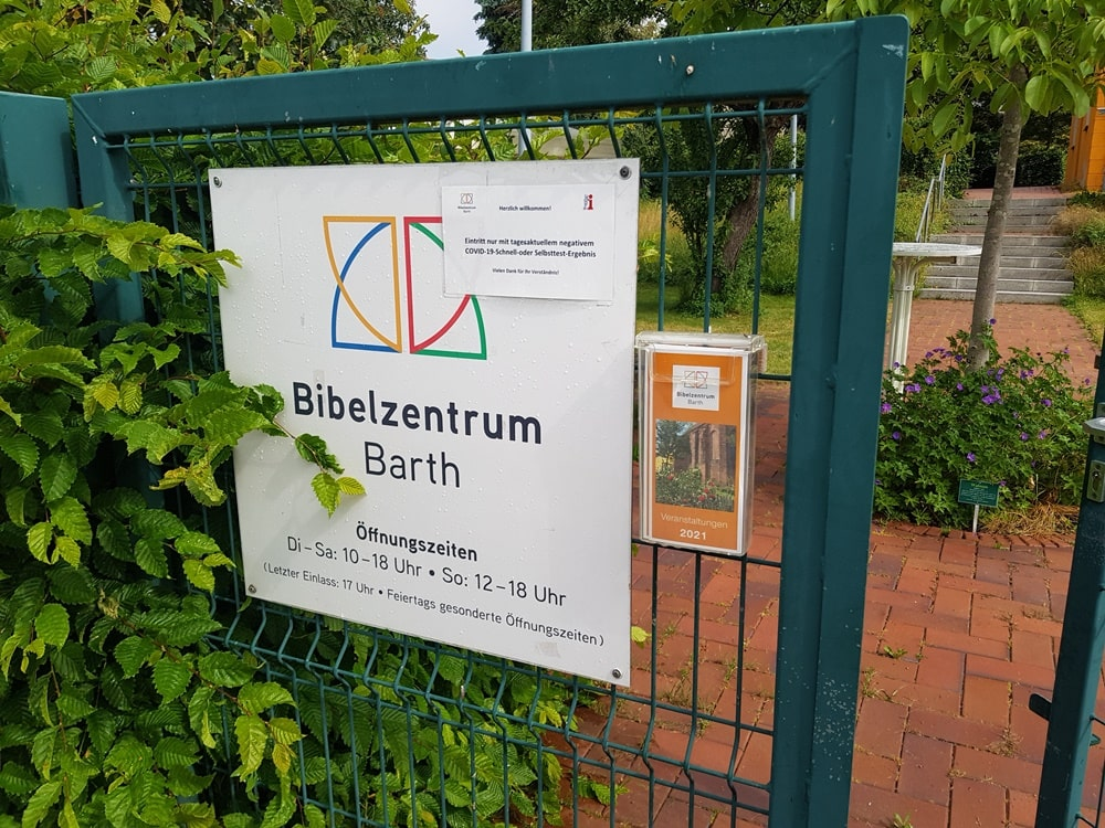 Jugendkirche Ferientag Juni 2021 im Bibelmuseum in Barth
