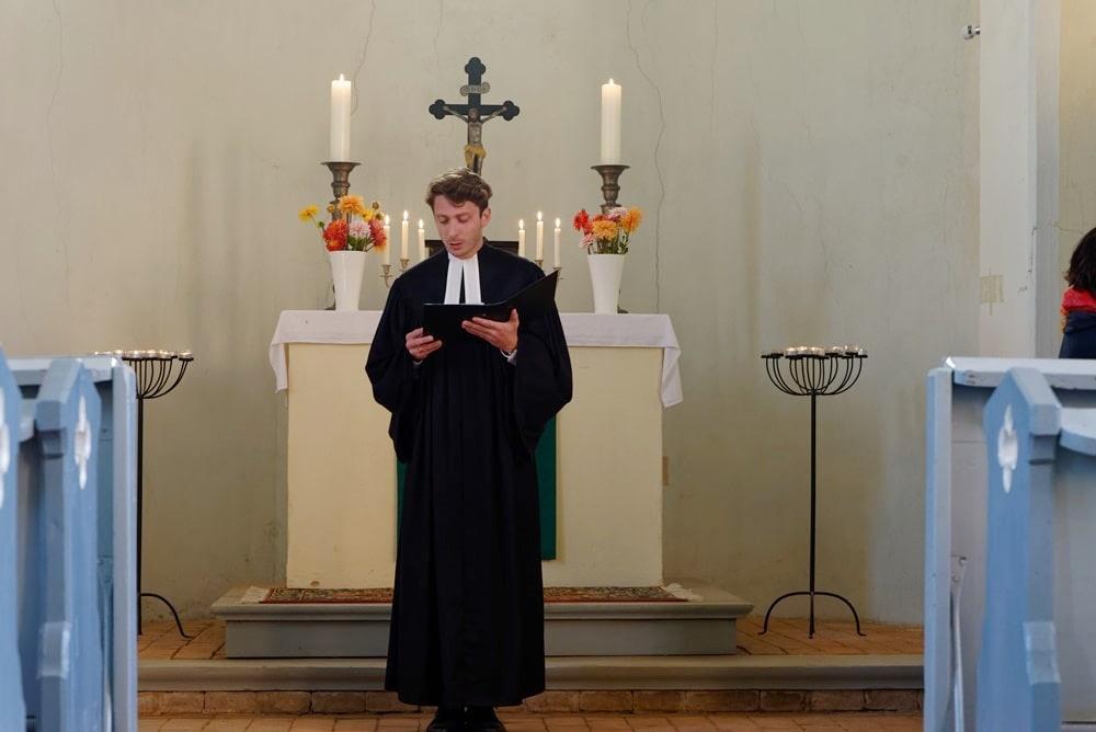 Gottesdienst am 08.08.2021 in Wegezin