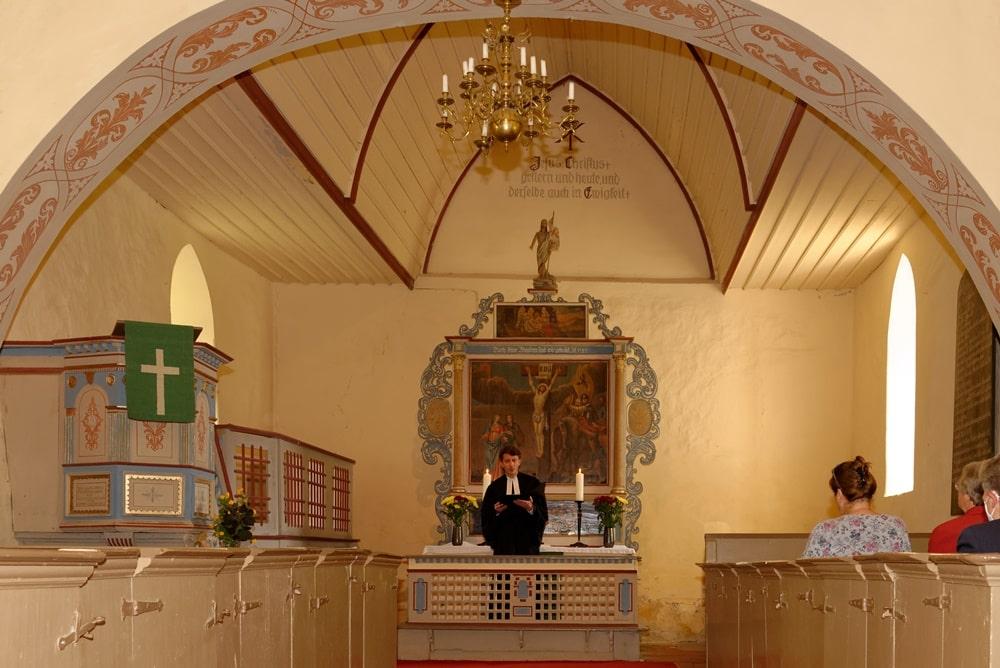 Gottesdienst am 08.08.2021 in Blesewitz