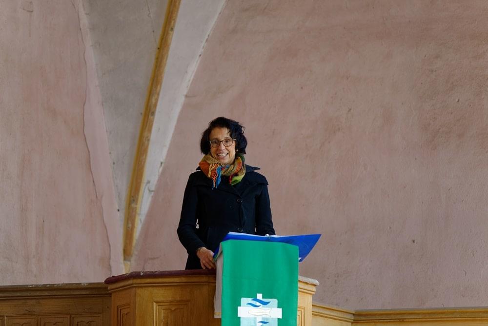 Erntedankgottesdienst in der Kirche in Krusenfelde-Gramzow
